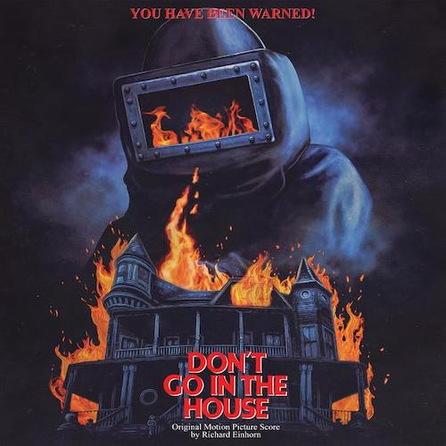 DON'T GO IN THE HOUSE artwork by Marc Schoenbach for Waxwork Records
