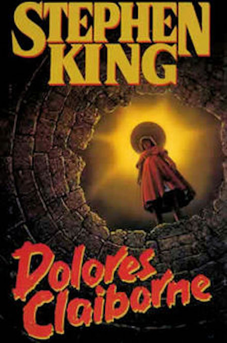 Dolores Claiborne by Stephen King Novel cover