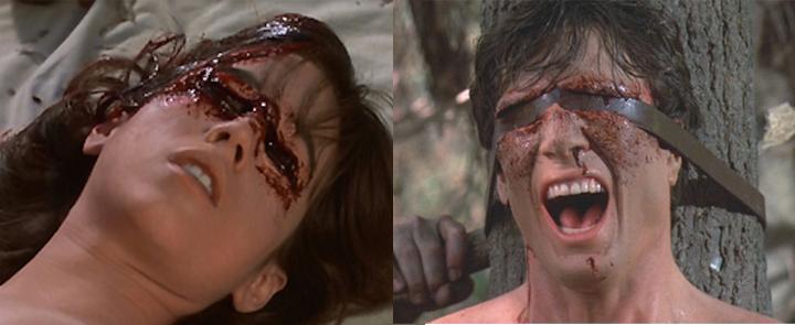 FRIDAY THE 13TH A NEW BEGINNING (1985) Deborah Voorhees and John Robert Dixon prove true love is blind