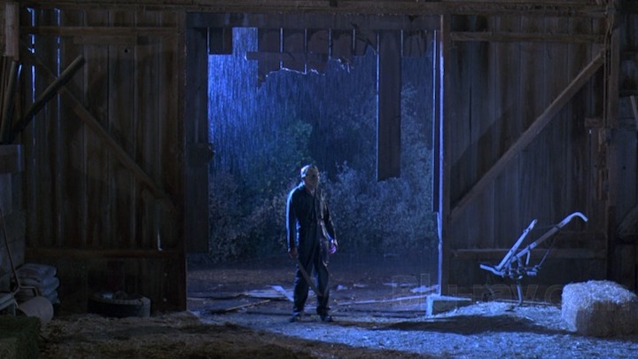 FRIDAY THE 13TH PART V A NEW BEGINNING (1985) Is this the wrong date? Friday the 13th right? We said we'd all meet up at the barn? Hello?