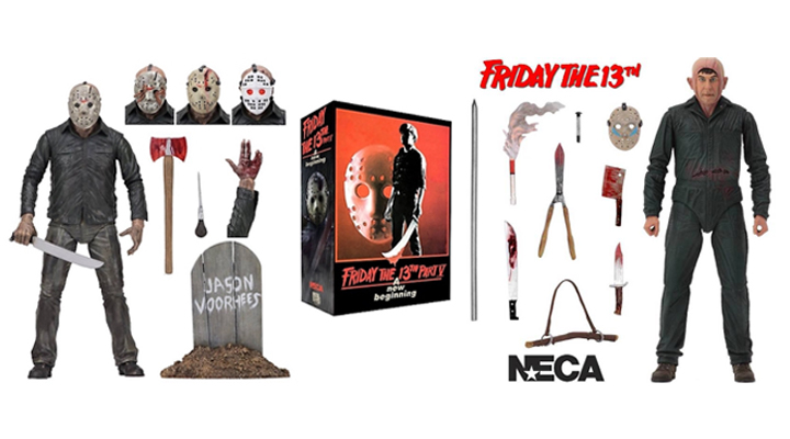 FRIDAY THE 13TH PART V A NEW BEGINNING (1985) NECA figures