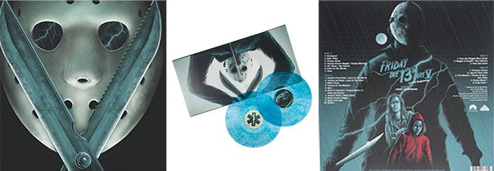 FRIDAY THE 13TH PART V A NEW BEGINNING (1985) Waxwork Records vinyl