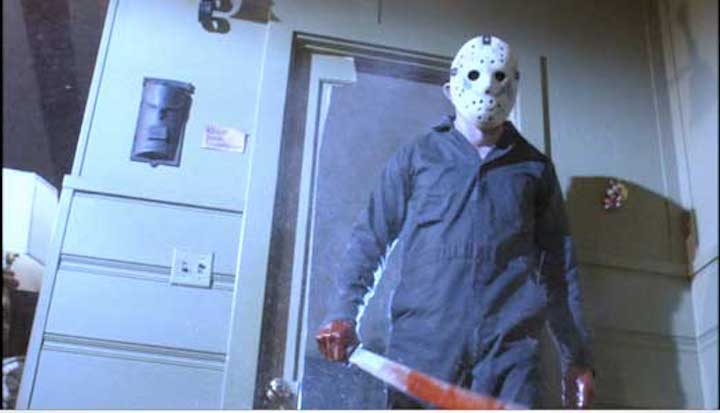 FRIDAY THE 13TH PART V A NEW BEGINNING (1985) You were only supposed to blow the bloody doors off