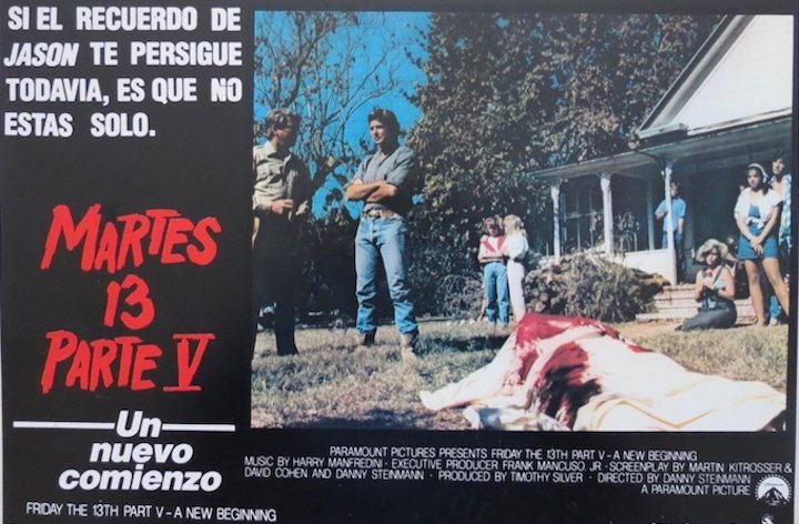 Friday The 13th Part V A New Beginning international poster 1