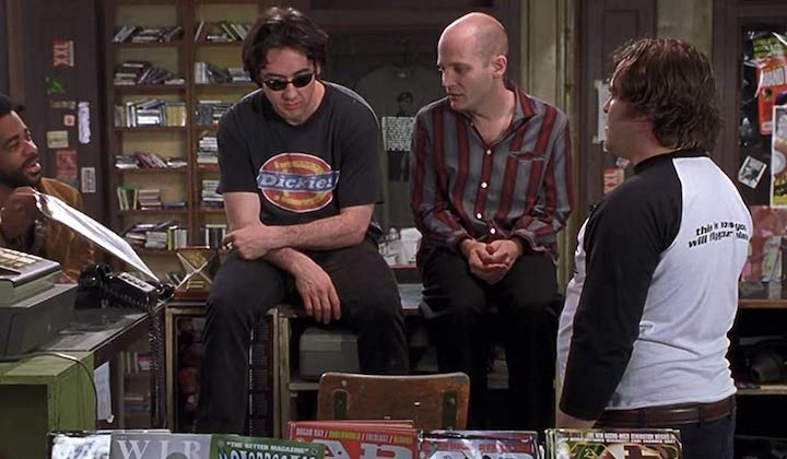 HIGH FIDELITY (2000) Alex Désert, John Cusack, Todd Louiso, and Jack Black