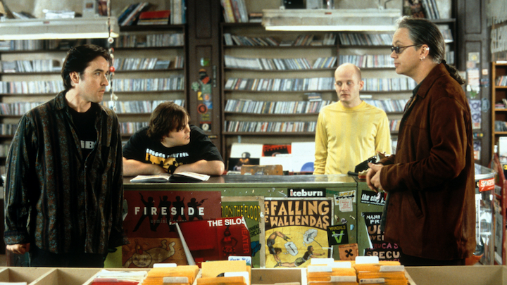 HIGH FIDELITY (2000) John Cusack, Jack Black, Todd Louiso, and Tim Robbins as one the best supervillains of all time