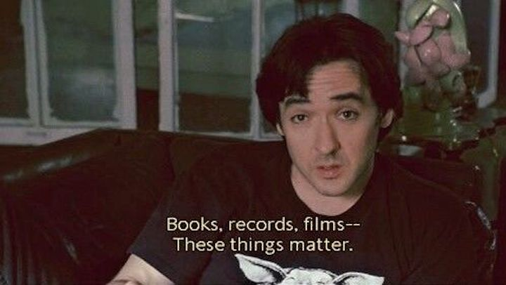 HIGH FIDELiTY (2000) John Cusack on what's important