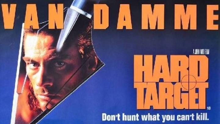 HARD TARGET (1993) movie poster