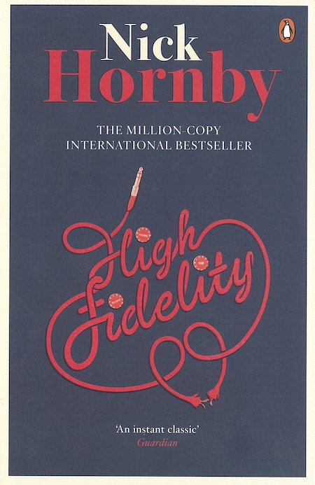 High Fidelity by Nick Hornby (1995) novel cover
