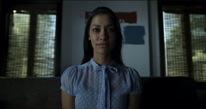 Janina Gavankar in Stucco (2019 short film) everything is going great