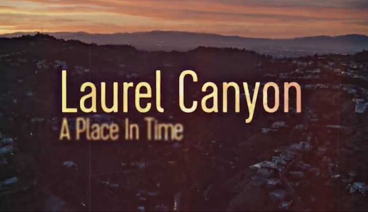 LAUREL CANYON (2020) title screen