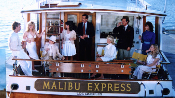 MALIBU EXPRESS (1985) so that's what the film was about?!?