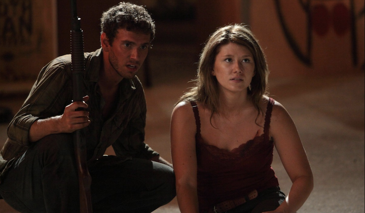 MOTHMAN (2010) Connor Fox and Jewel Staite face off with a monster...and are stuck in West Virgina. Double Whammy.