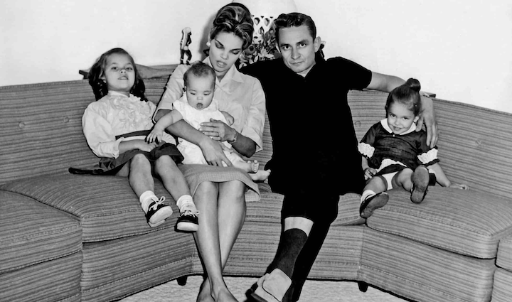 MY DARLING VIVIAN (2020) Vivian Liberto and Johnny Cash with their daughters