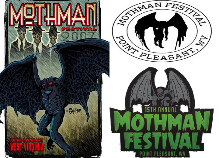 Mothman Festival Posters Through The Years