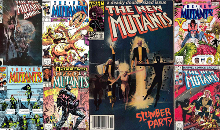 New Mutants Comic Covers