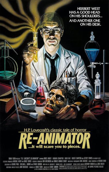 RE-ANIMATOR (1985) movie poster