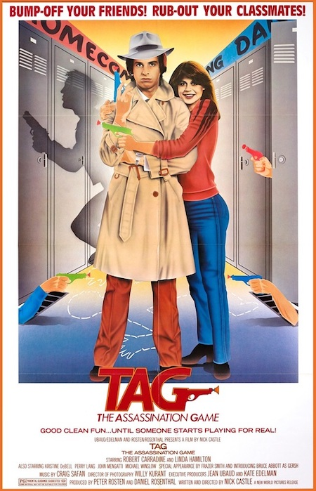 T.A.G. THE ASSASSINATION GAME (1982) movie poster