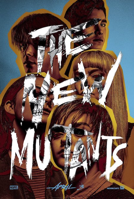 THE NEW MUTANTS (2020) cut out poster