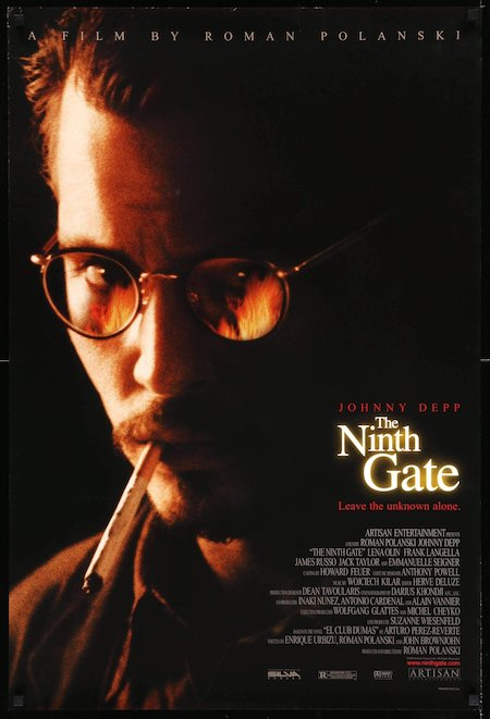THE NINTH GATE (2000) movie poster