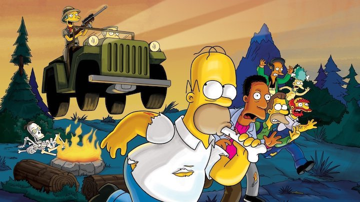 THE SIMPSONS Most Dangerous Game
