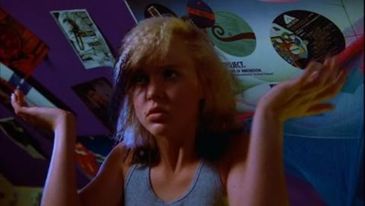 Tiffany Helm in FRIDAY THE 13TH PART V A NEW BEGINNING (1985) Violet dances her way into our hearts