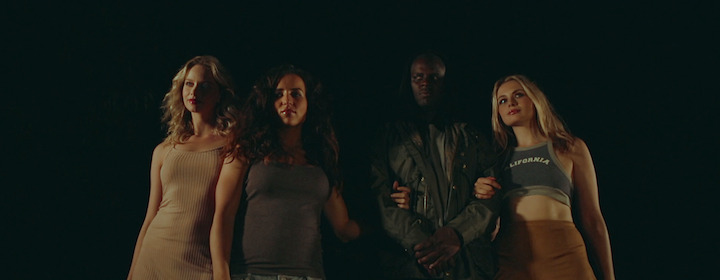 WICKED WITCHES (2019) Ian (Justin Marosa) and witches