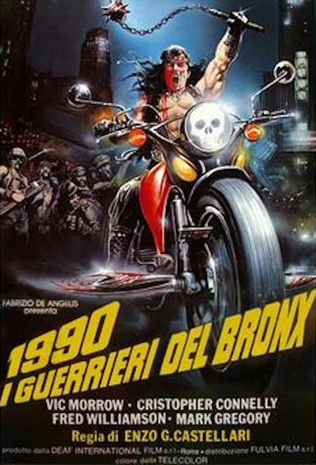 1990: BRONX WARRIORS movie poster