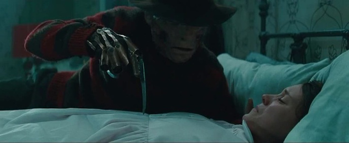 A NIGHTMARE ON ELM STREET (2010) remake Jackie Earle Haley and Rooney Mara at their low points
