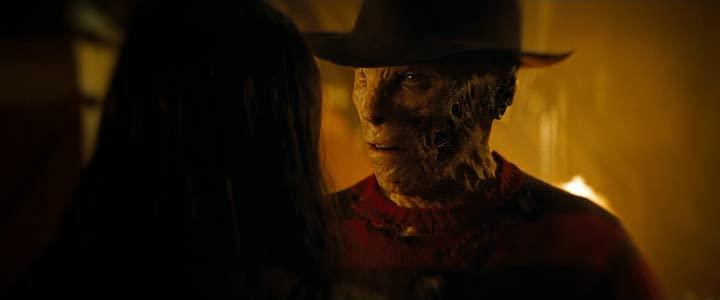 A NIGHTMARE ON ELM STREET (2010) remake Jackie Earle Haley as contemplative Freddy Krueger
