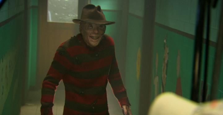 A NIGHTMARE ON ELM STREET (2010) remake Jackie Earle Haley as giddy Freddy Krueger