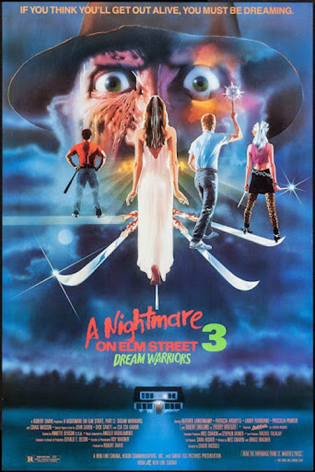A NIGHTMARE ON ELM STREET 3: DREAM WARRIORS (1987) movie poster