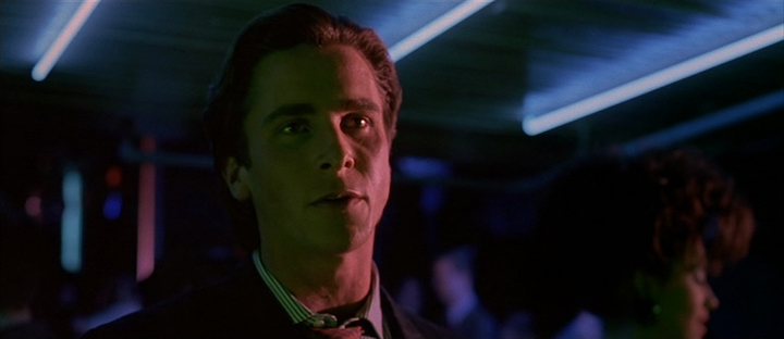 AMERICAN PSYCHO (2000) saying the quiet part loud