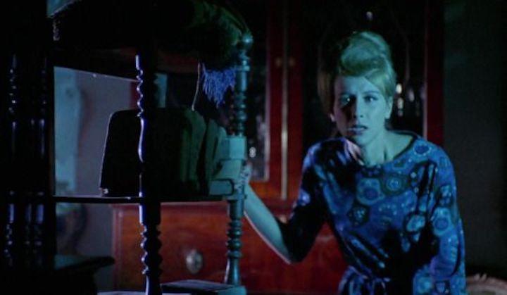 BLOOD AND BLACK LACE (1964) she is blue da-boo-di-da-boo-da