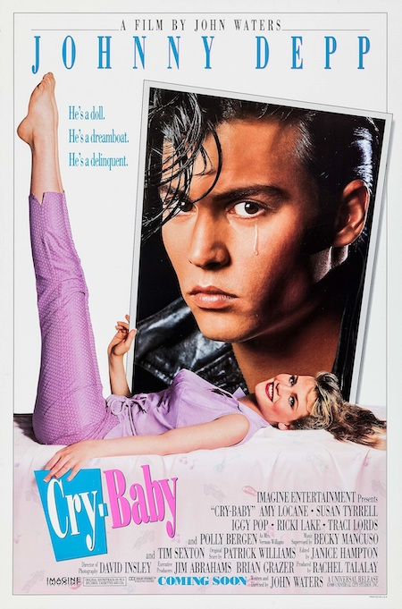 CRY-BABY (1990) Movie poster A