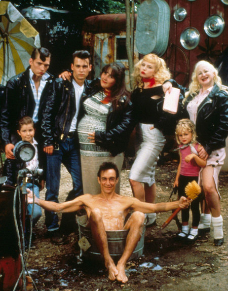 CRY-BABY (1990) Darren E. Burrows, Johnny Depp, Ricki Lake, Iggy Pop, Traci Lords, Kim McGuire