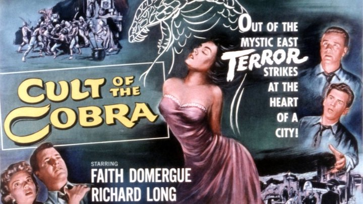 [Review] 1955's 'CULT OF THE COBRA' Slithers Into A Fun Post-Universal Monsters Horror Film