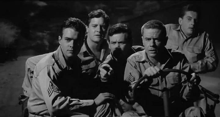 CULT OF THE COBRA (1955) the non-musical version of ON THE TOWN is way darker