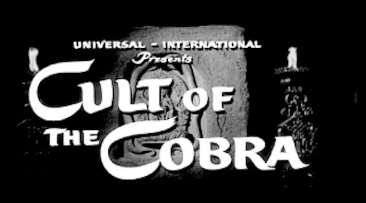 CULT OF THE COBRA (1955) title screen