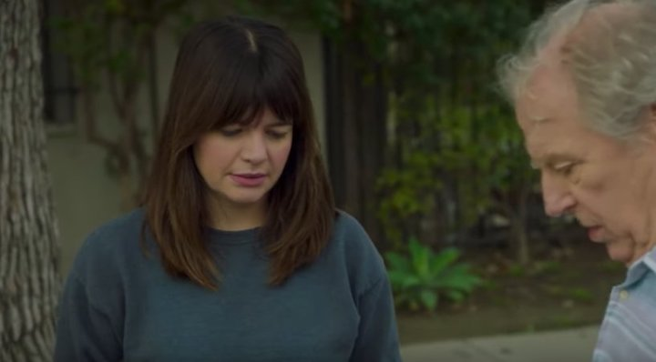 DADDIO (2019 short) Casey Wilson has second thoughts about her father Michael McKean