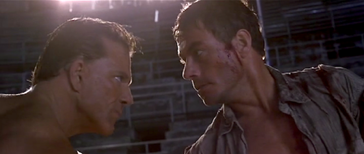 DOUBLE TEAM (1997) Rourke and JCVD a long ways away from Marvel films and THE EXPENDABLES 2