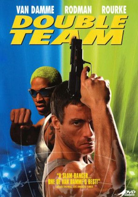 DOUBLE TEAM (1997) movie poster A