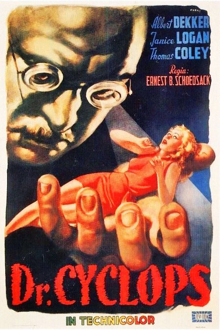 DR. CYCLOPS (1940) movie poster C