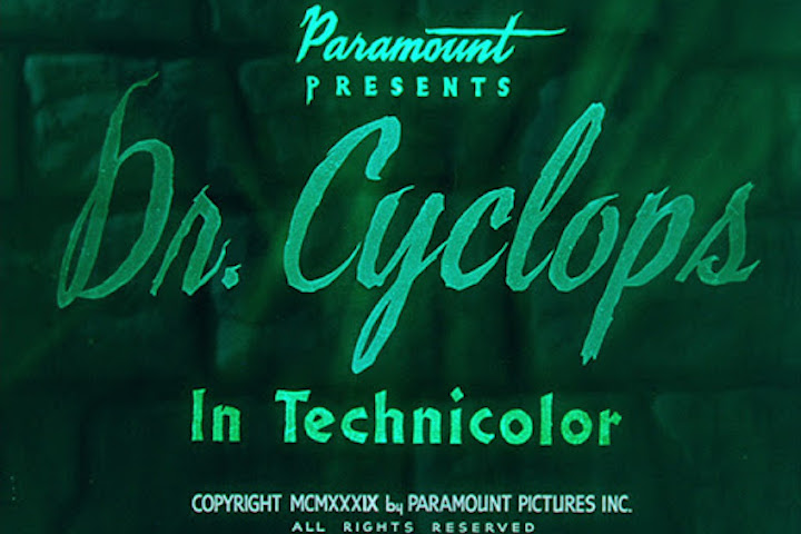 DR. CYCLOPS (1940) title screen