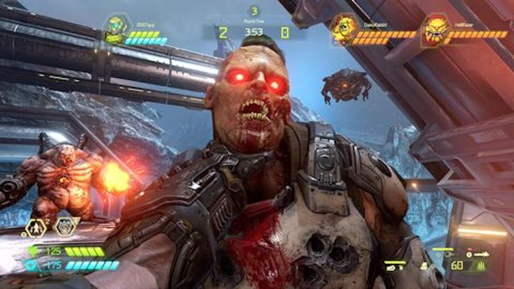 Doom Eternal (2020) choke me Doom Daddy