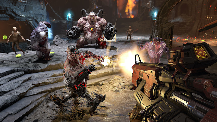 Doom Eternal (2020) welcome to the party pal
