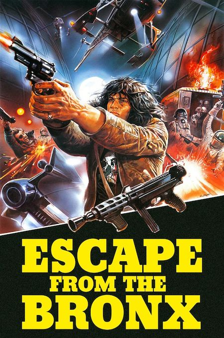 ESCAPE FROM THE BRONX movie poster