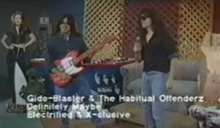 GIDO BLASTER AND THE HABITUAL OFFENDERZ (90s)