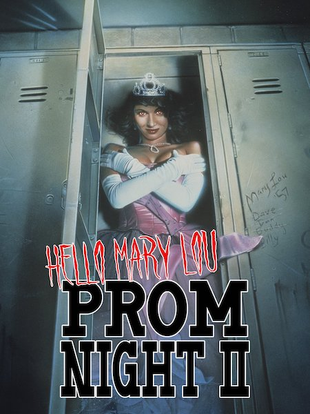 HELLO MARY LOU: PROM NIGHT II (1987) movie poster