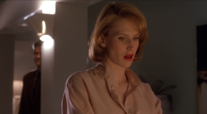LISA (1990) D.W. Moffett cannot resist a game of peakaboo